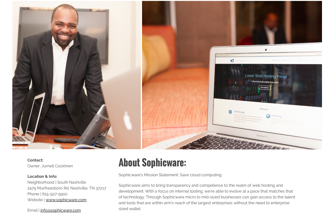 Meet Sophicware, A Nashville IT Company!