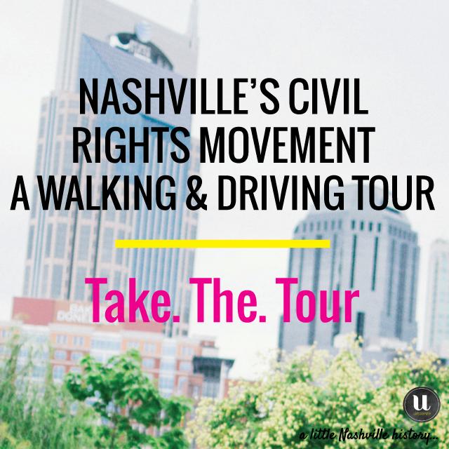 A Little Nashville History: The Civil Rights Tour